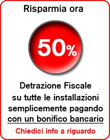 Detrazione fiscale su installazione di antifurti, climatizzatori e impianti videosorveglianza